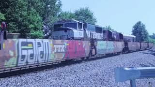 Railfanning Bellevue Ohio Part 2. Geometry Train!
