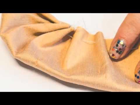 Make Your Own Silk Flower Tweed Brooch