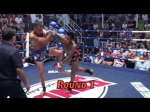Kunchan (Tiger Muay Thai) vs Fellipe (Elite Fight Club Phuket) @ Bangla Stadium 7/1/2015