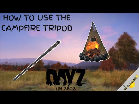 How To Use The Campfire Tripod | DayZ On Xbox
