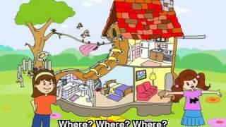 Скачать English Songs For Children In The Kitchen Bedroom Bathroom Living Room Song
