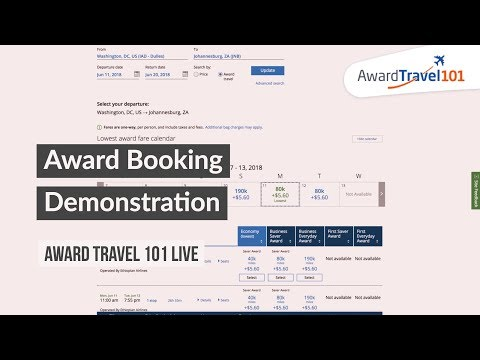 Live, Viewer-Sourced, Award Booking Demonstrations