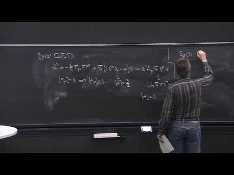 Lecture 8   Part 2   Quantum Electrodynamics, Dimensional An