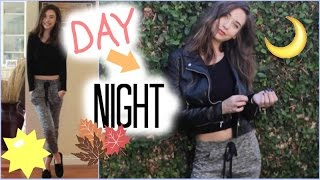 Fall Day to Night Look! (Hair, Makeup, and Outfit!) ♡ Thumbnail