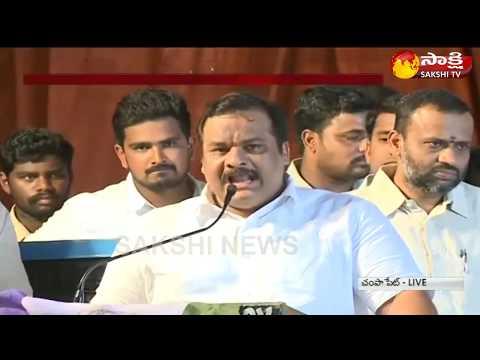 Telangana YSRCP Plenary begins in Hyderabad ||  Gattu Srikanth Reddy Speech