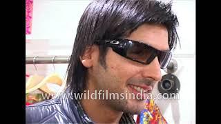 Zayed Khan at Samita Chaudhary's clothing store opening