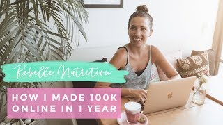 HOW I MADE OVER 100K ONLINE IN LESS THAN 1 YEAR