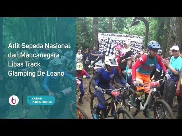 Atlit Sepeda Nasional dan Mancanegara Libas Track Glamping De Loano