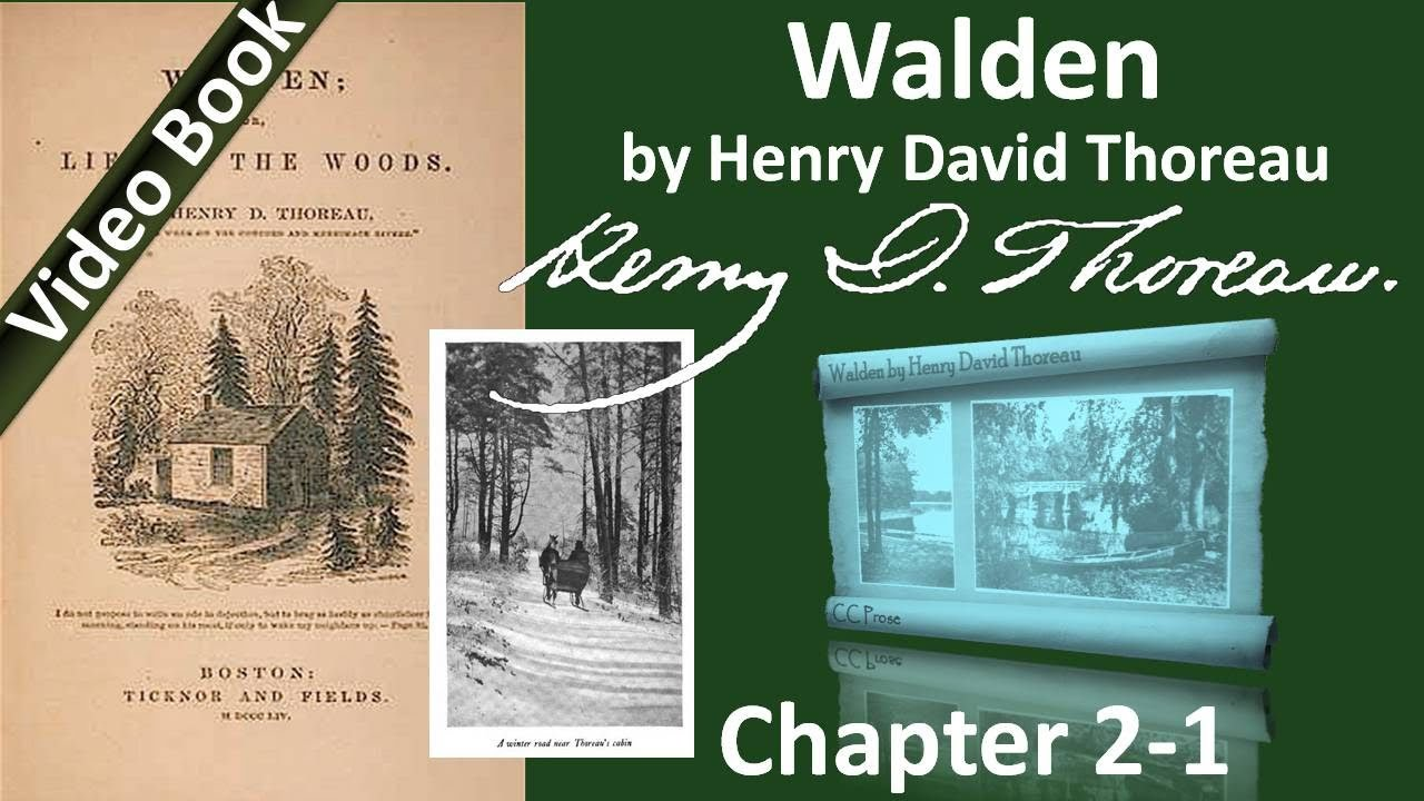 antithesis thoreau where i lived and what i lived for Free summary and analysis of where i lived, and what i lived for in henry david thoreau's walden that won't make you snore we promise.