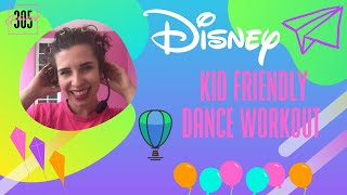 DISNEY DANCE WORKOUT Kid Friendly - 305 Fitness