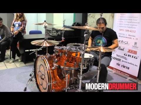 Brian Tichy - мастер класс на NAMM Musikmesse Russia 2015
