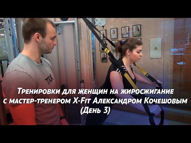 Тренировки для женщин на жиросжигание: день 3 - TRX-функциональный стабилизационный тренинг