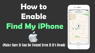 How to Enable Find My Apple iPhone (Even If It's Dead)
