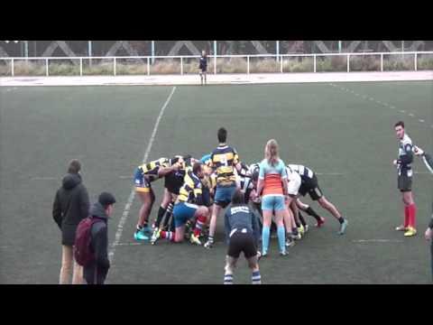 Rugby : Victoire de Paris-Sorbonne vs Paris Tech