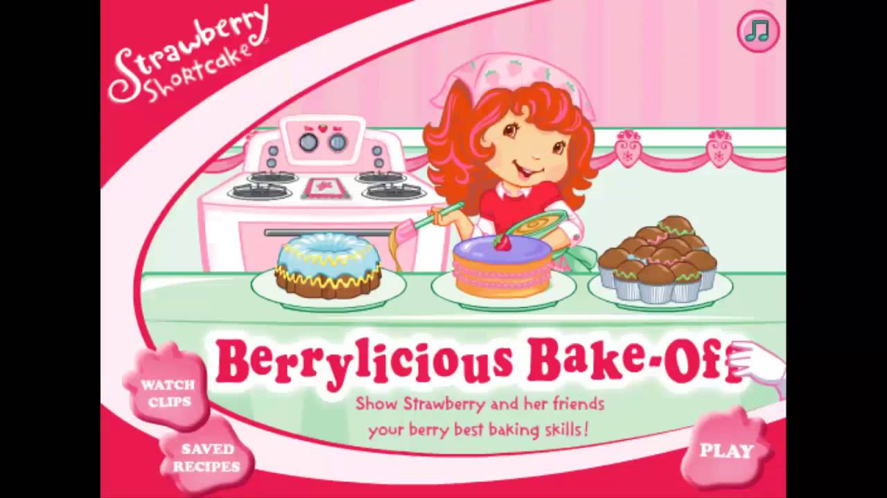 cooking game video-Strawberry Shortcake Berrylicious Bake ...
