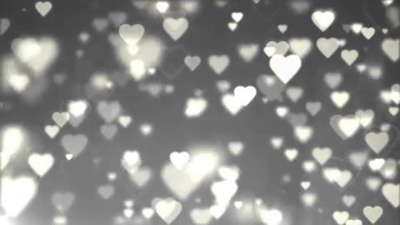 motion background hearts grey youtube