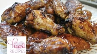 Honey Chipotle Chicken Wings | I Heart Recipes