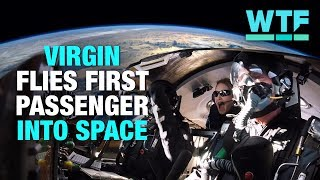 Virgin Galactic brings its first passenger into space | What the Future