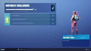Comment GET the fortnite anniversaire Challenges (Pour les joueurs sans les défis d'anniversaire)