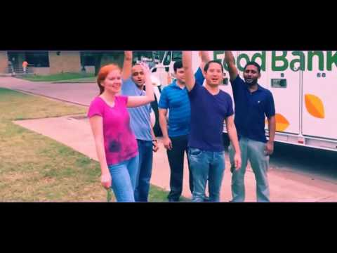 E2open Dallas Volunteers at North Texas Food Bank