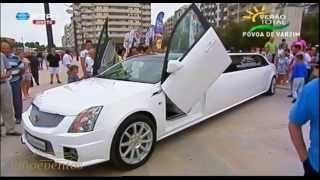 Limoeventos - Aluguer de limousines na entrevista a RTP - Limoeventos
