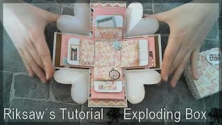 DIY [Tutorial #1] Exploding Box [with english sub]