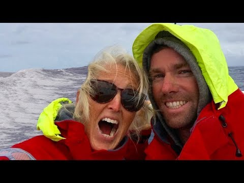 STUFF that HAPPENS OFFSHORE for 6 DAYS - Adventure 34 of Sailing Around the World