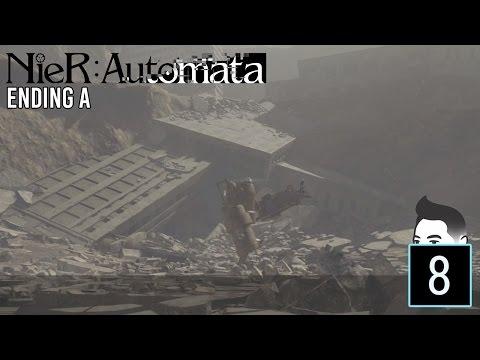 OmRyo Plays - NieR: Automata - ENDING A (Indonesia Playthrough) #8