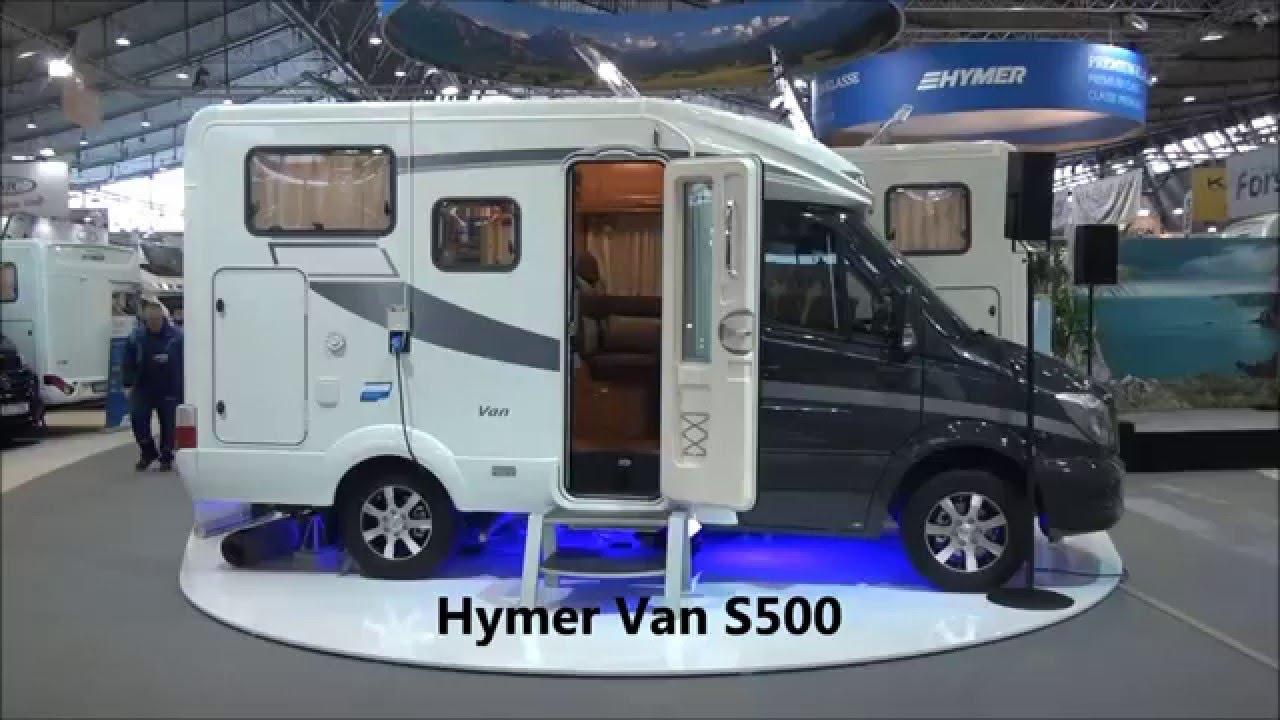 Hymer Van S500 Motorhome Review