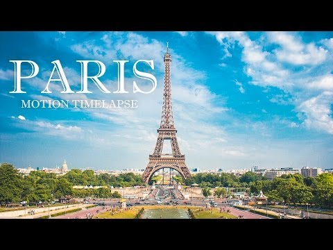 PARIS Timelapse in motion 4K 2014 (ArtamonovTV)