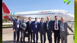 На Ямал приходят 25 отечественных самолетов Sukhoi Super Jet 100(Сегодня глава арктического региона Дмитрий Кобылкин находится с рабочим визитом в городе Жуковский Москов..., 2015-08-25T15:48:20.000Z)