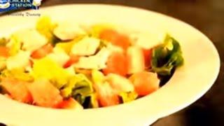 How To Make Chicken Pomelo Salad | Sesame Pasta Chicken Salad