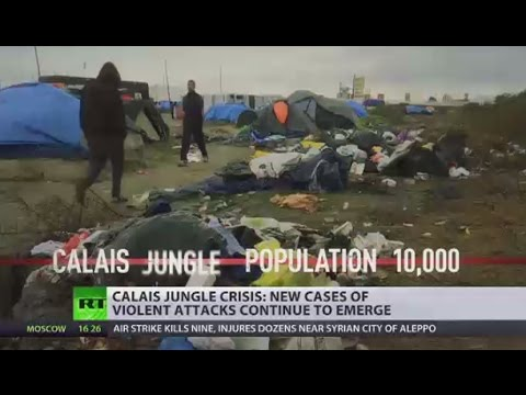 Interpreter raped by alleged Afghan migrants near Calais 'Jungle' camp