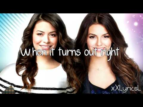 Victorious & iCarly Cast - Leave It All to Shine (Lyrics)