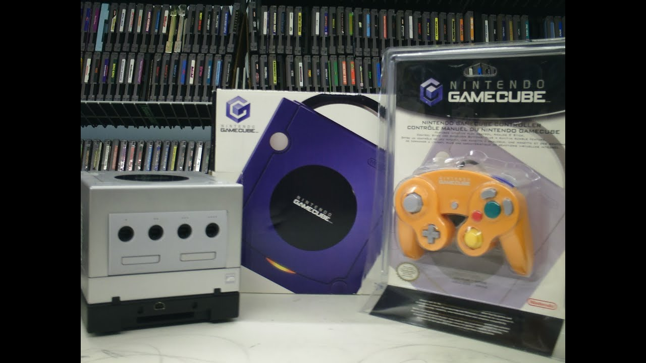Video Game Display Nintendo Gamecube Review Console