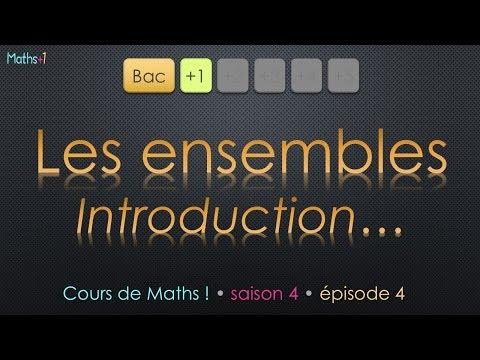 4. Théorie des ensembles (Bac+1)