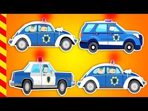 Машины для детей все серии 15 МИН. Мультик про разные виды машинок. Учимся как ловить преступников