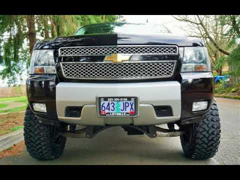 2007 Chevrolet Tahoe LTZ 4X4 1 OWNER Lifted FUEL Wheels 35S for sale in Milwaukie, OR