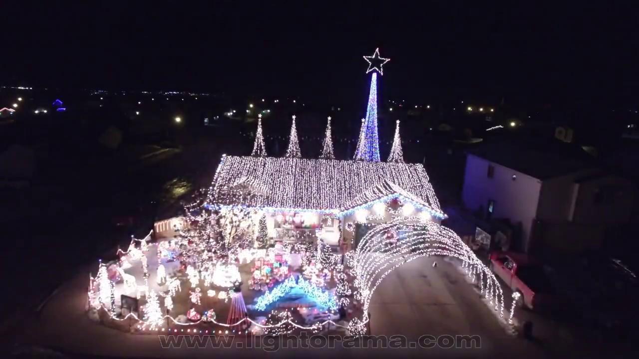 light o rama christmas montage 2