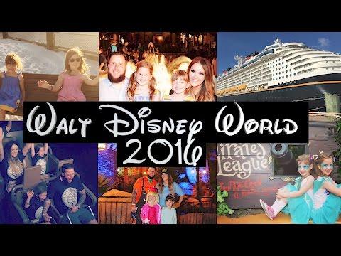 Walt Disney World and Disney Cruise Family Vacation Holiday Florida 2016 GoPro Hero