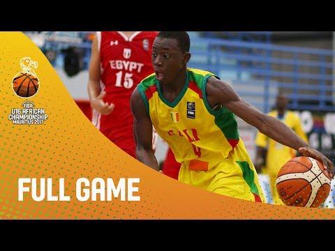 Mali v Egypt - Full Game - Final - FIBA U16 African Championship 2017
