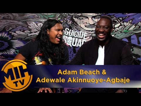 Adam Beach & Adewale Akinnuoye-Agbaje Interview Suicide Squad