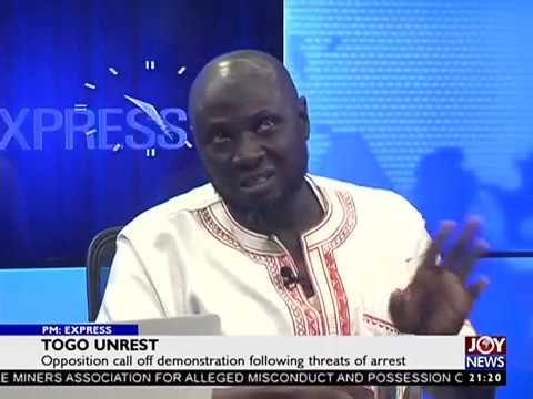 Togo Unrest - PM Express on JoyNews (12-9-17)