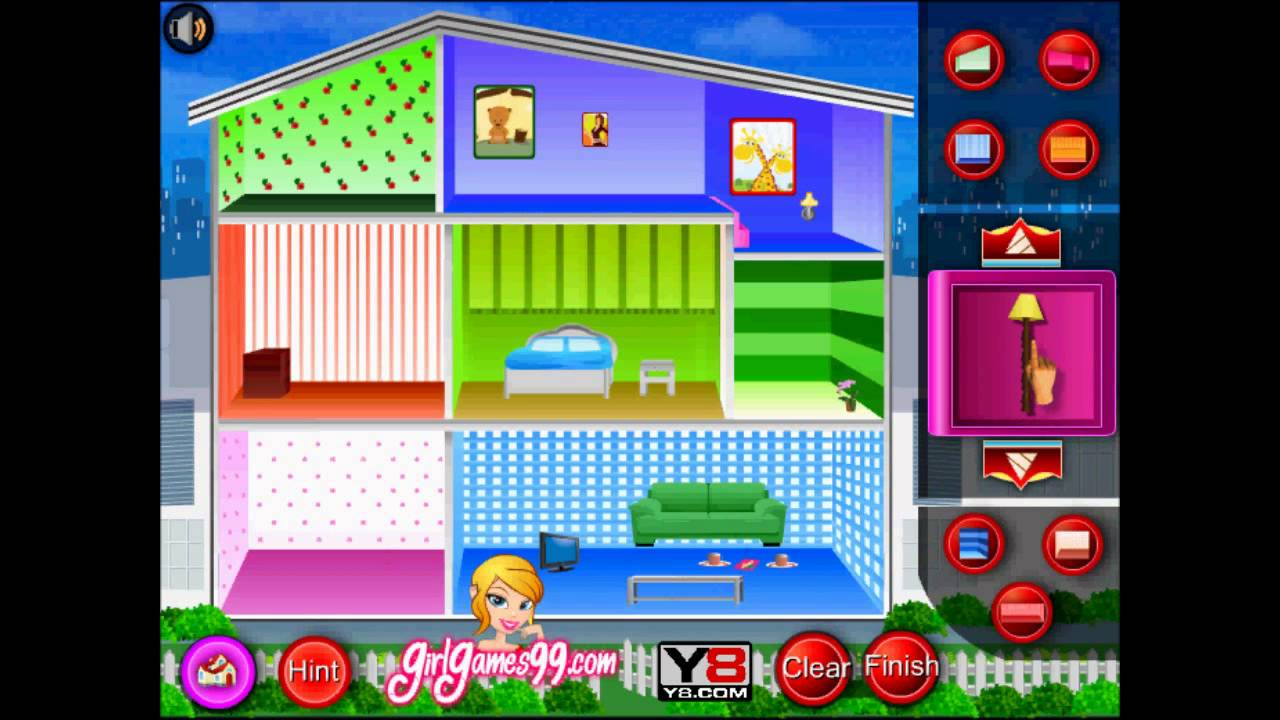 Doll House Decoration Game Flash Played By Magicolo 2013