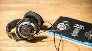 sennheiser HD800S - after midnight listening session binaural audio