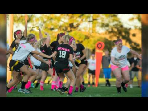 2015 Mandan High School Powderpuff Football Game