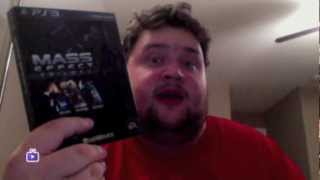 ★ PS3 Mass Effect Trilogy Unboxing