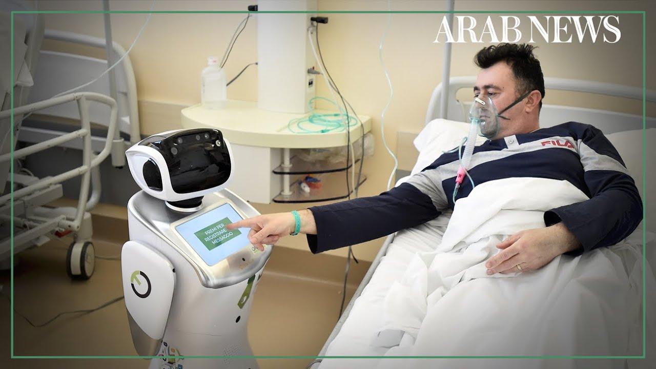 Robots assist hospital staff on Italy's coronavirus frontline