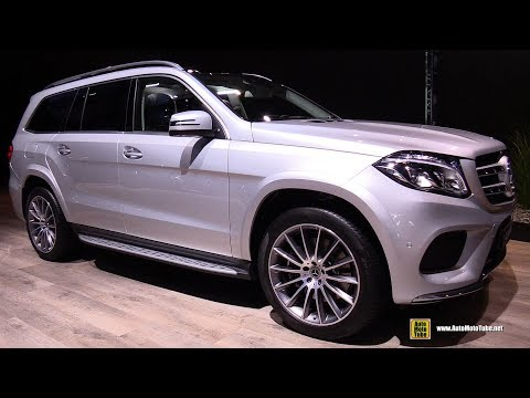 2018 Mercedes GLS500 4Matic - Exterior and Interior Walkaround - 2017 Frankfurt Auto Show