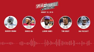 SPEAK FOR YOURSELF Audio Podcast (8.12.19) with Marcellus Wiley, Jason Whitlock | SPEAK FOR YOURSELF